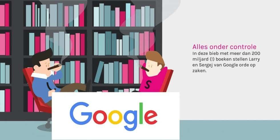Google 'bibliotheek'