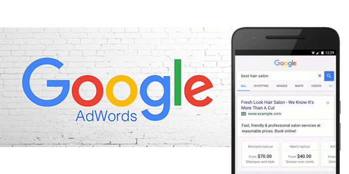 Google Adwords on mobile