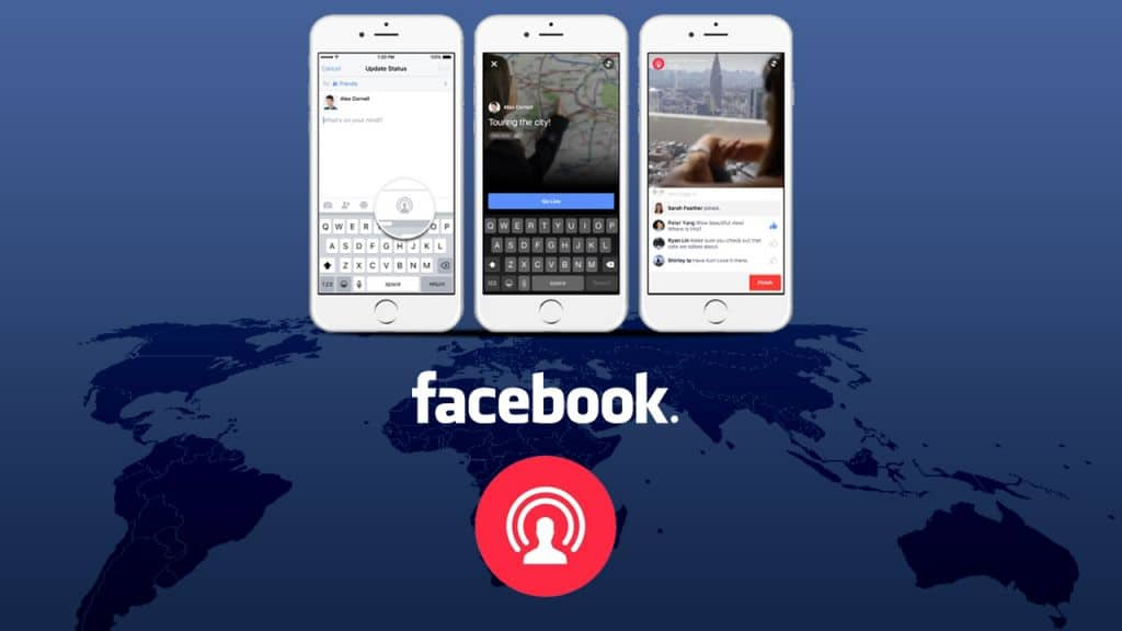 Facebook live blog