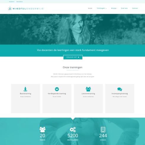 Homepage mindful onderwijs