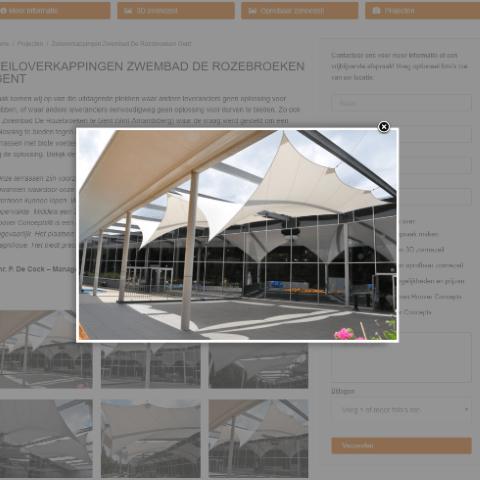 Hoover Concepts website portfolio pagina
