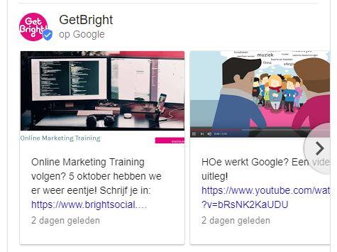 google berichten - getbright
