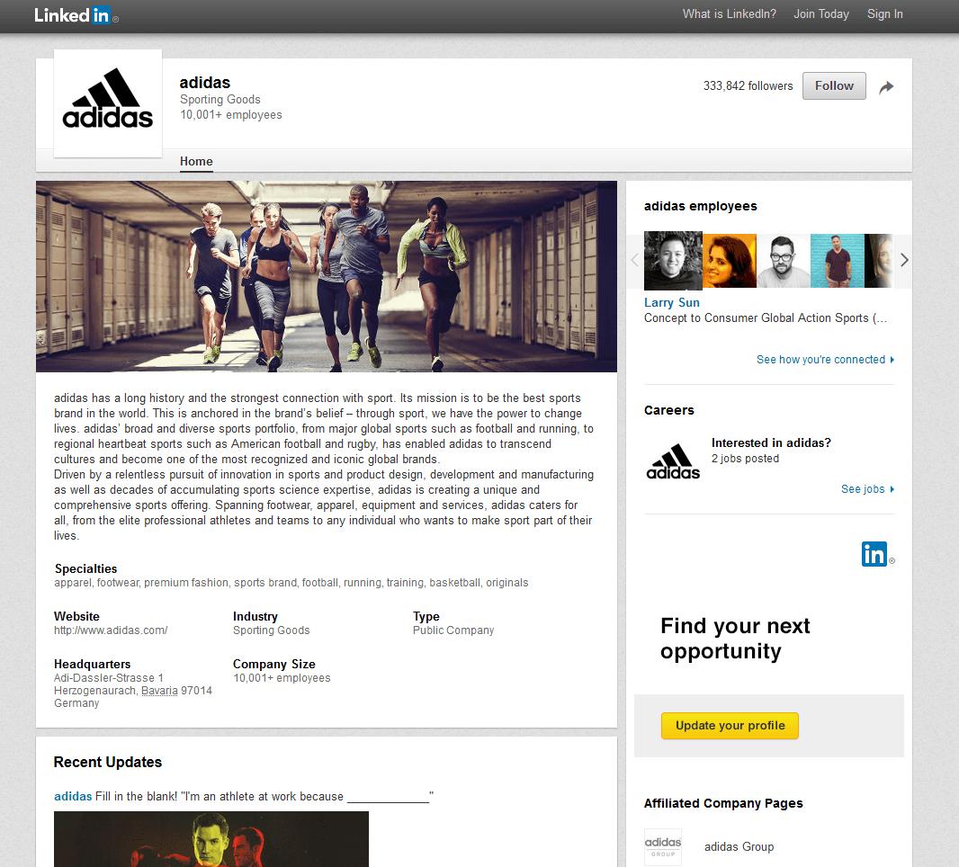 adidas company page 2