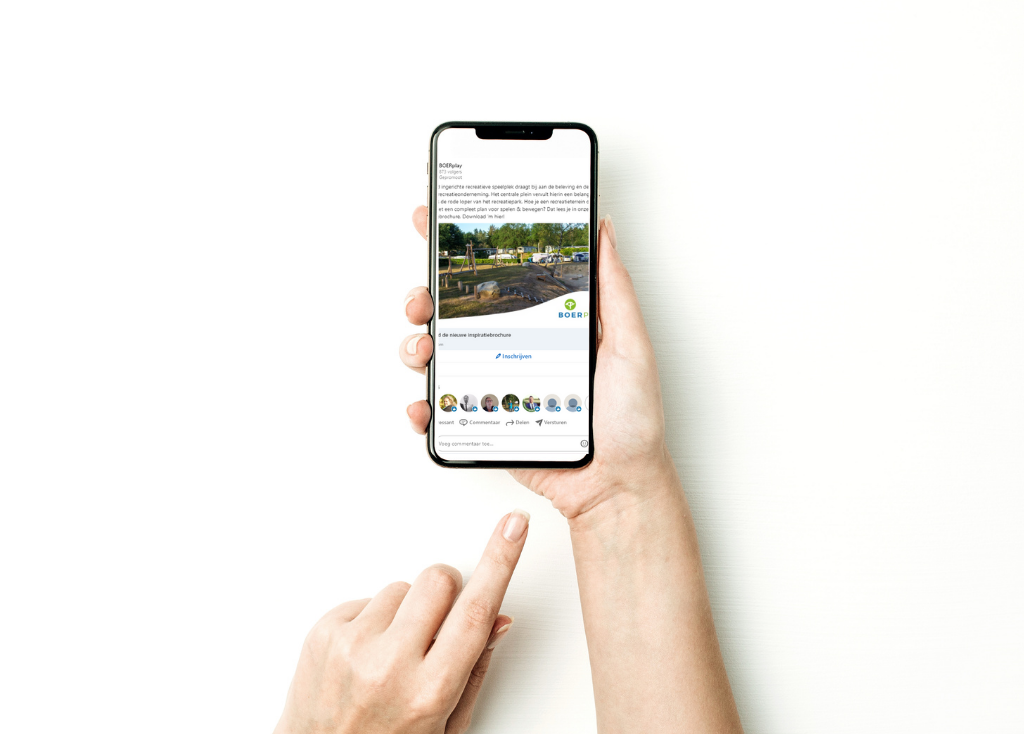 iphone linkedin ad boerplay
