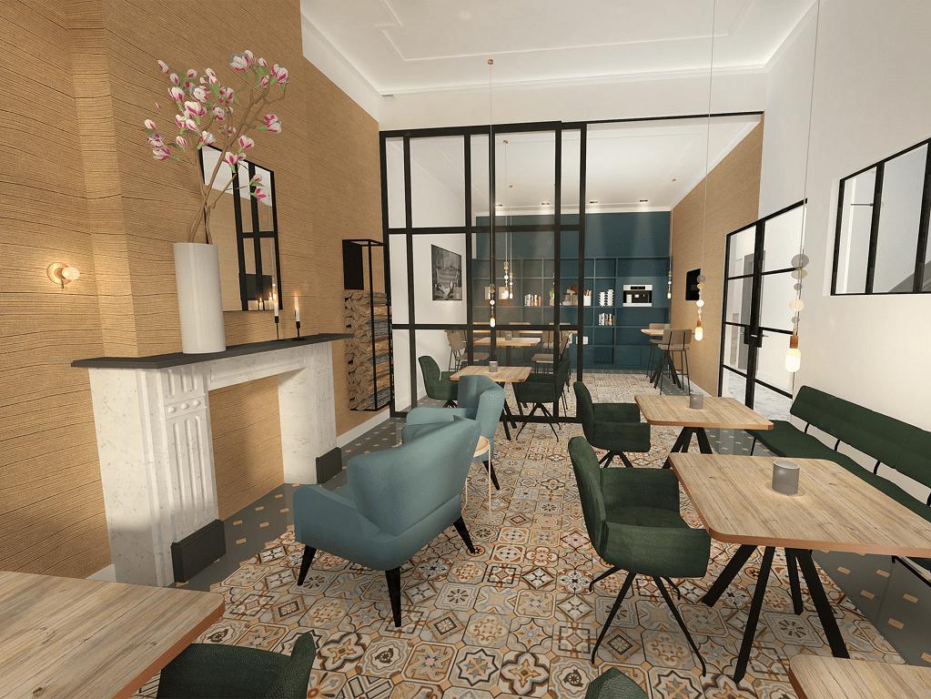 Lobby Hotel Julien