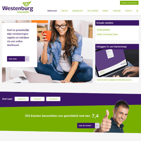 website westenburg na redesign