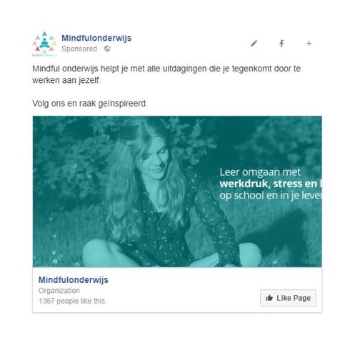facebook think mindful onderwijs