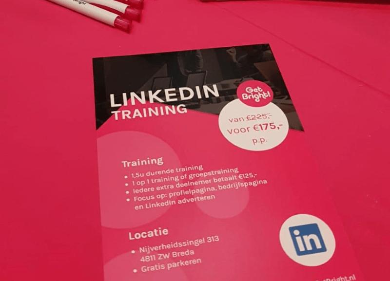 GetBright beurs LinkedIn training