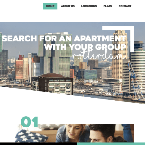 website room for rent