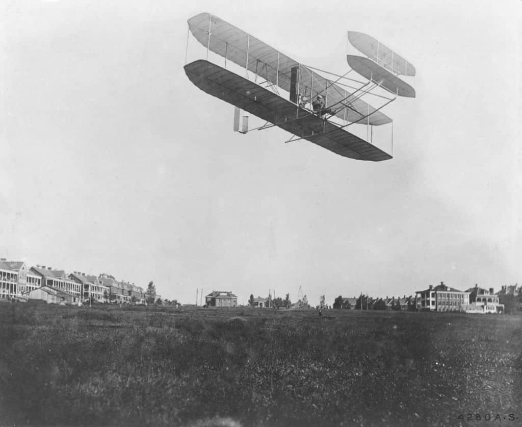 vliegtuig webbouw